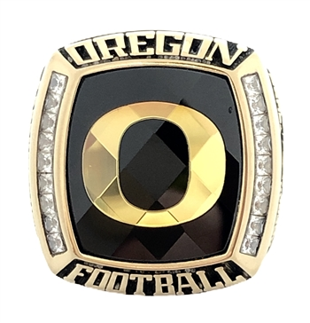 "2013 Oregon Ducks ""Alamo Bowl"" Champions NCAA  Football Ring!"