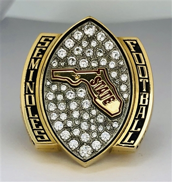 "2015 Florida St. Seminoles FSU NCAA Football ""State"" Champions Ring!"
