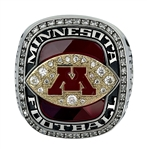 "2016 Minnesota Golden Gophers ""Holiday Bowl"" Champions NCAA Football Ring!"