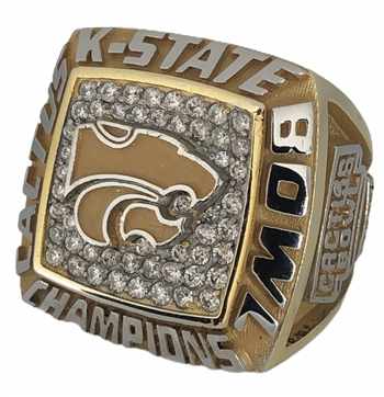 "2017 Kansas State Wildcats KSU ""Catus Bowl"" Champions NCAA Football Ring!"