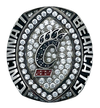 "2018 Cincinnati Bearcats NCAA Football ""Military Bowl"" Champions Ring!"