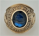 1955 Pitt Panthers NCAA Letterman's Championship 10K Gold Ring!!