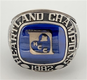 1982 Ashland Eagles Heartland College Football Champions Ring!
