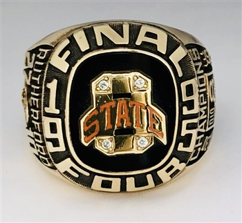 "1995 Oklahoma State Cowboys NCAA Basketball ""Final Four"" Championship 10K Gold Ring!"