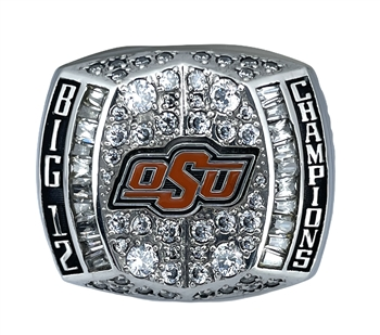 2011 Oklahoma State Cowboys Big-12 Champions NCAA Football Championship Ring!