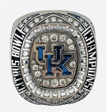 "2018 Kentucky Wildcats ""Citrus Bowl"" Champions NCAA Football Ring!"