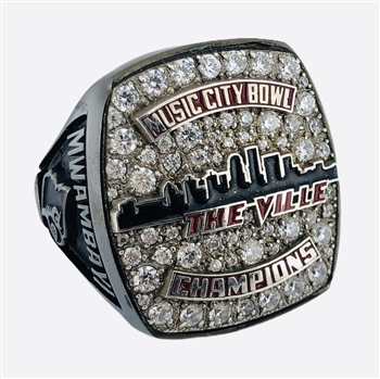 "2019 Louisville Cardinals ""Music City Bowl"" Champions NCAA Football Ring!"