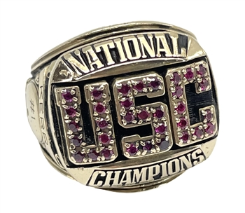 "1978 USC Trojans ""National Champions"" 10K Gold NCAA Football Ring!"