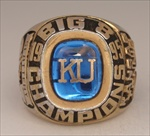 "1995 Kansas University ""Big-8"" Conference Champions Tennis Ring"