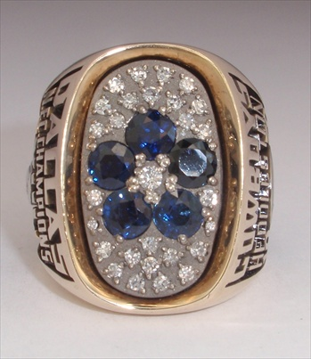 "1978 Dallas Cowboys Super Bowl XIII ""NFC"" Champions 10K Gold & Diamond Ring"
