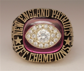 "1985 New England Patriots Super Bowl XX ""AFC Champions"" Ring!"