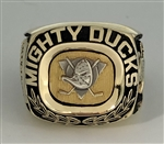 1993-94 Mighty Ducks NHL Hockey Inaugural Season Ring!