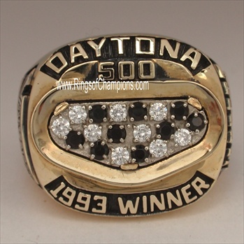 "1993 NASCAR ""Daytona 500"" Winners 10K Gold Championship Ring"