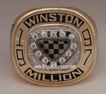 "Jeff Gordon 1997 ""Winston Million"" NASCAR Championship 10K Gold Ring"