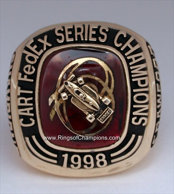 1998 Cart FedEX Series Champions 14K Gold Ring