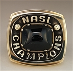 1984 Chicago Sting Soccer NASL Champions 10K Gold Ring!