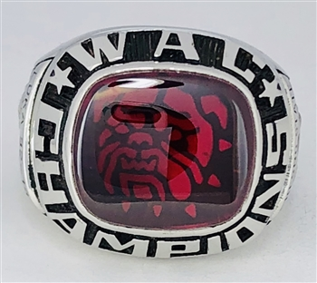 "1999 Fresno State Bulldogs Tennis ""Wac"" Champions Ring"