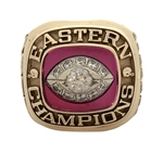 1985 Birmingham Stallions USFL Eastern Conference Champions Football 10k Gold Ring