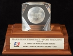 Mickey Lolich's, Detroit Tigers  MLB-Sport Magazine 25 Years of World Series Heroes Award!