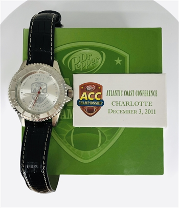 2011 Atlantic Coast Conference Championship Game Watch with Presentation Box!