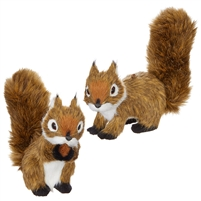 "RAZ Imports - 5.25 "" Squirrel Ornaments - Set of 2"