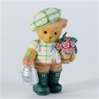 Cherished Teddies - Bear with Watering Can