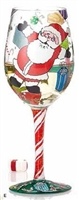 Lolita - A Claus For Celebration - 15 oz Wine Glass