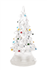 Acrylic Light Up LED Tabletop Christmas Tree - Small