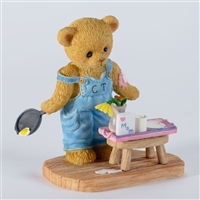Cherished Teddies - Bear Cooking For Mom - 4027219