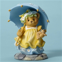 Cherished Teddies - Bear With  Umbrella