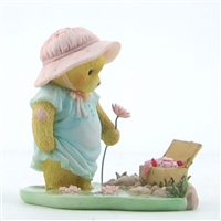 Cherished Teddies - Bear With Picnic Basket