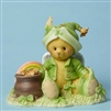 Cherished Teddies - Bear with Rainbow and Pot of Gold - 4051037