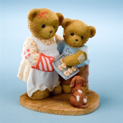 Cherished Teddies -  Bears with Cookies - 2011 MOF