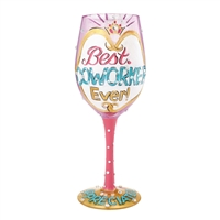 Lolita - Best Co-Worker Ever - 15 oz Wine Glass