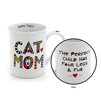 'Cat Mom' 16-ounce Coffee Mug from Our Name Is Mud