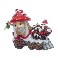 Charming Tails - All Aboard The Pine Cone Express - 130446