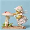 Cherished Teddies - Fairy with Mushroom House - 4051043
