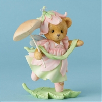 Cherished Teddies - Bear Mom With Mushroom Parasol
