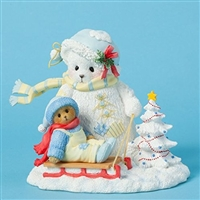 Snowbear and Bear on Sled