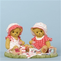 Cherished Teddies - Cherry Bears with Sandwiches