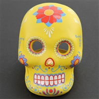 Day of the Dead Skull and LED Votive Holder