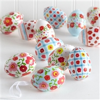 Decorated Easter Eggs - Bag of 12 - 2.5""