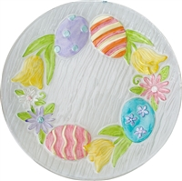 Easter Parade Fused Glass Plate