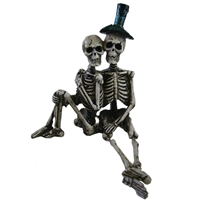 Ganz - Skeleton Couple Shelf Sitter