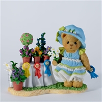 Cherished Teddies -  Girl with Flowers - 1st Prize - CT1201