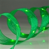 Shape-able Mesh Ribbon with Green LED's