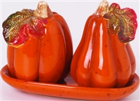 Harvest Pumpkin Salt and Pepper Shaker
