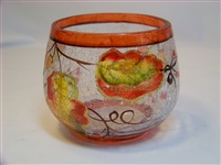 Harvest Votive Holder - Orange