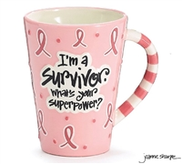I'm A Survivor - Whats Your Superpower Mug