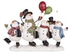 Jolly Snowman Figurine